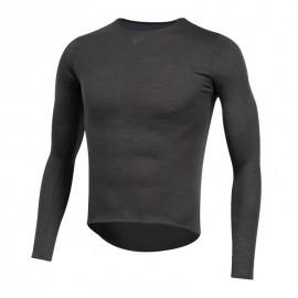 Camiseta interior Pearl Izumi Merino negro hombre
