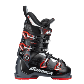 Botas esquí Nordica Speedmachine 100 negro hombre talla 29.0
