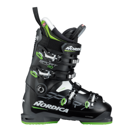 Botas esquí Nordica Sportmachine 110 negro hombre