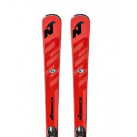 Pack esquí Nordica Gt 76 Ti Fdt + Tpx12 Fdt rojo unisex