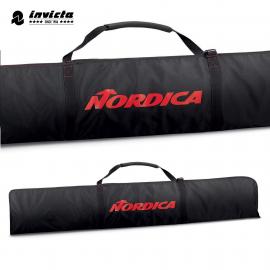 Funda esquís Nordica Promo Ski negro rojo