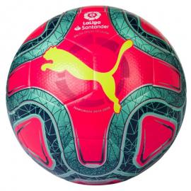 Balón fútbol Puma La Liga 1 Hybrid verde/rosa/amarillo