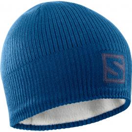 Gorro Salomon Logo Beanie azul unisex