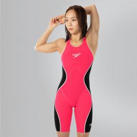 Bañador competición Speedo LZR Pure Intent rosa/negro mujer