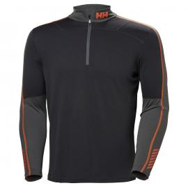 Camiseta térmica M/L Helly Hansen Lifa Active 1/2 Zip gris