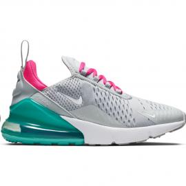 Zapatillas Nike Air Max 270 gris/turquesa/rosa mujer
