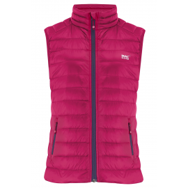 Chaleco plumas MAC In a SAC Gilet fucsia mujer