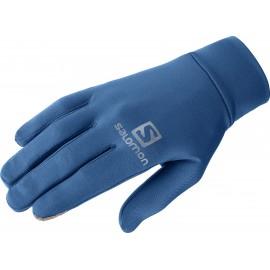 Guantes running Salomon Agile Warm Glove azul unisex
