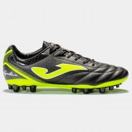 Zapatillas fútbol Joma Águila 921 AG negro/flúor hombre