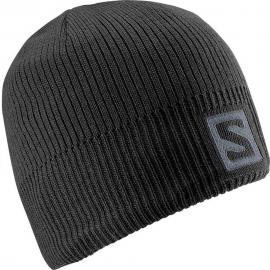 Gorro Salomon Logo Beanie negro unisex