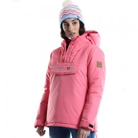 Anorack +8000 Fiorda rosa mujer