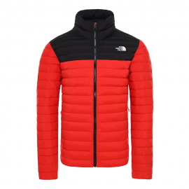Chaqueta The North Face Stretch Down rojo/negro hombre