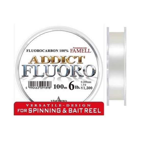 Addict Fluoro 12lbs. 100m.