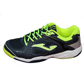 Zapatillas tenis Joma Match JR 903 azul/fluor junior