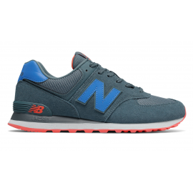 Zapatillas New Balance ML574JFG azul  hombre