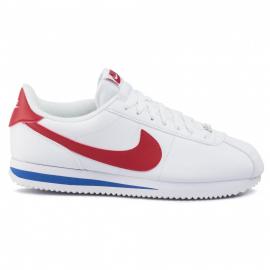 Zapatillas Nike Cortez Basic Leather blanco/rojo hombre