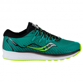 Zapatillas running Saucony Ride ISO 2 verde/negro junior