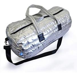 Bolsa deporte Nuvola Apolo 28x55x28 plata mujer