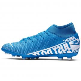 Botas fútbol Nike Mercuria Superfly 7 Club FG/MG azul hombre