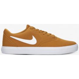 Zapatillas Nike Sb Check Solar Cnvs marrón hombre