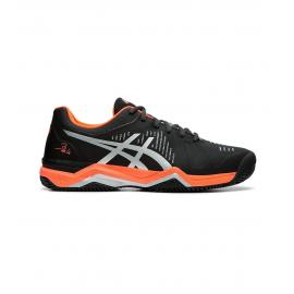 Zapatillas pádel Asics Gel-Bela 6 SG negro/gris hombre