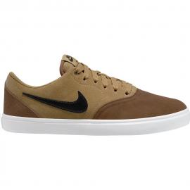 Zapatillas Nike SB Check Solar marrón hombre