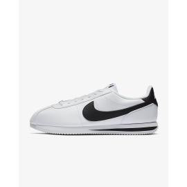 Zapatillas Nike Cortez Basic leather blanco/negro hombre