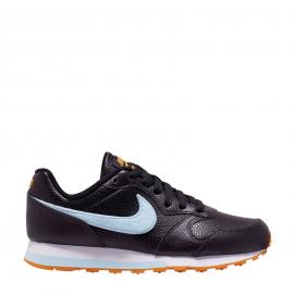 Zapatillas Nike Md Runner 2 FLT (GS) negro/celeste junior
