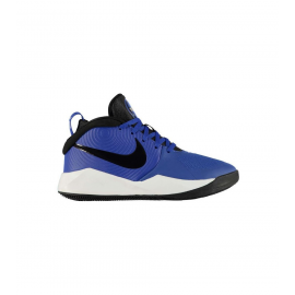 Zapatillas baloncesto Nike Team Hustle D9 royal junior