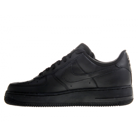 zapatillas nike force negro