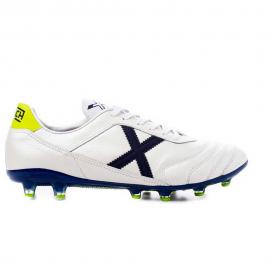 Zapatillas fútbol Munich Mundial 2.0 blanca/azul hombre