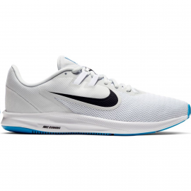 Zapatillas Nike Downshifter 9 blanco/negro hombre