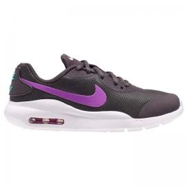 Zapatillas Nike Air Max Oketo gris/morado junior