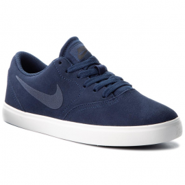 Zapatillas Nike Sb Check Suede marino junior
