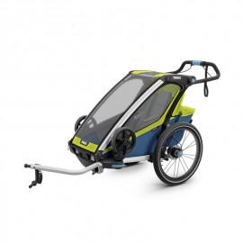Carrito Thule Chariot Sport 1 Lima-azul l V19 10201014