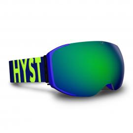 Mascara Hysteresis Freeride azul  lente verde cinta azul