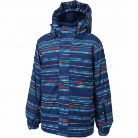 Chaqueta esqui Color Kids Dartwin padded AOP azul niño