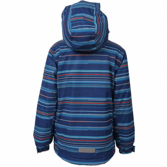 Chaqueta esqui Color Kids Dartwin padded AOP azul niño