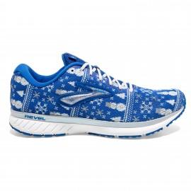 Zapatillas running Brooks Revel 3 azul blanco hombre