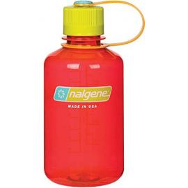 Nalgene Bidon 500ml boca estrecha rojo/verde