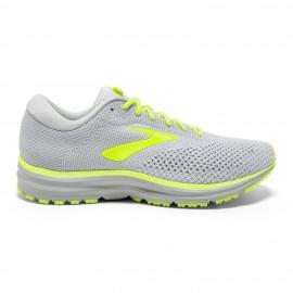 Zapatillas running Brooks Revel 2 gris/amarillo hombre