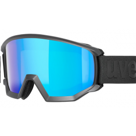 Mascara esquí Uvex Athletic Cv negro azul S3 hombre