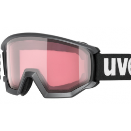 Mascara esquí Uvex Athletic V negro  mate S2-S3 hombre