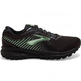 Zapatillas running Brooks Ghost 12 GTX negro/verde mujer