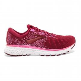 Zapatillas running Brooks Glycerin 17 rojo/rosa mujer