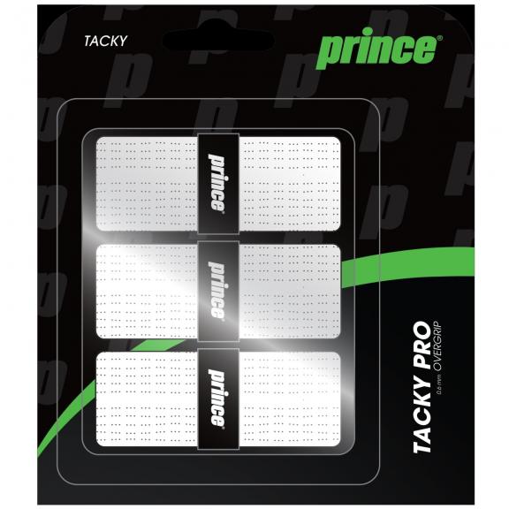 Overgrip Prince Tackypro 3pk blanco