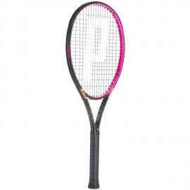 Raqueta tenis Prince TXT2 Beast 104 negro/rosa
