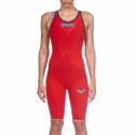Bañador competición Arena Powerskin Carbon-Air2 rojo mujer