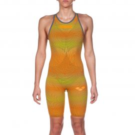 Bañador de competición Arena Powerskin Carbon-Air2 Lime/Oran