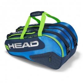 Paletero Head Elite padel Supercombi azul/verde